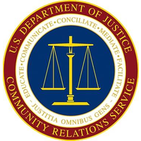 Department of Justice Community Relations Service logo