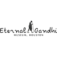 Eternal Gandhi Museum Houston logo