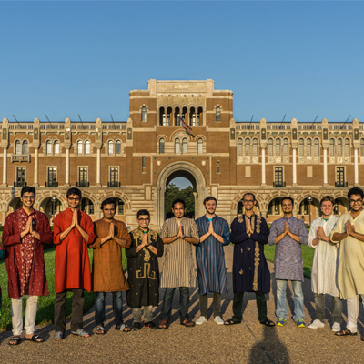 Image of Indian Students at Rice