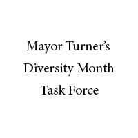 Mayor Turner's Diversity Month Task Force